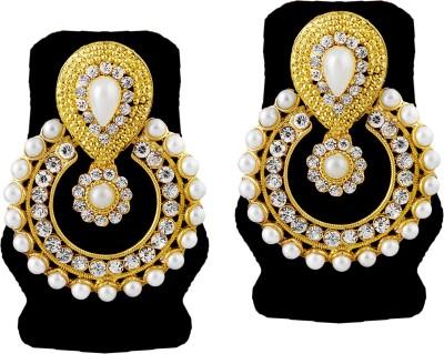TAKSPIN Takspin party wear collectible tribal earring ( Indian jewellry) Alloy Chandbali Earring