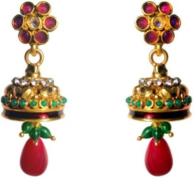 Vikalp Brass Drop Earring
