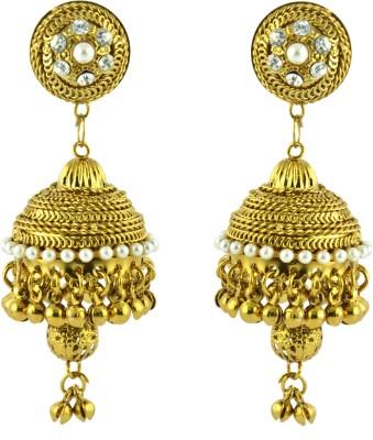 Jyeana Princess Delight Zinc Jhumki Earring