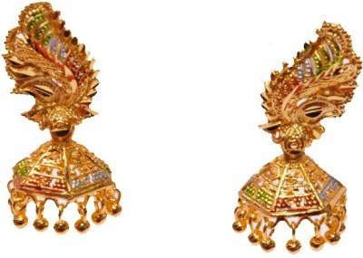 PFJ PFJ3034-EARRING Brass, Copper Jhumki Earring