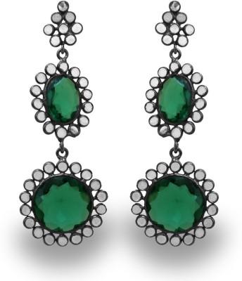 SuvidhaArts Stunning Designer Brass Drop Earring