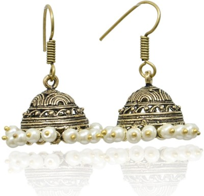 Jaipur Mart Designer Fashion Brass Dangle Earring
