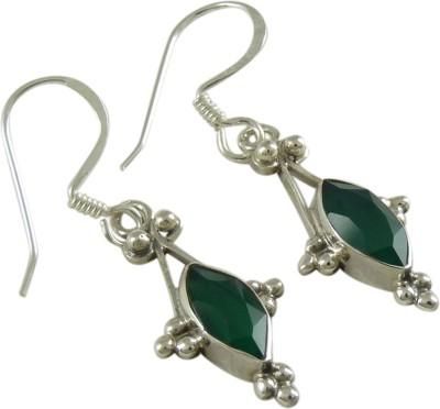 Miska Silver Antique Silver Dangle Earring