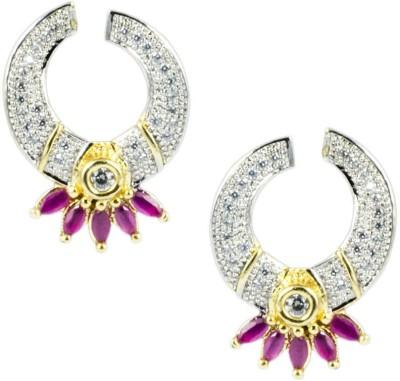 Paradise Delight earring Brass, Copper Stud Earring