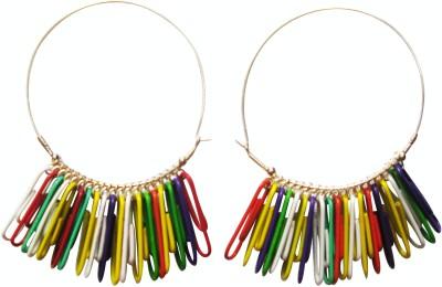 Juhi Malhotra Plastic Hoop Earring