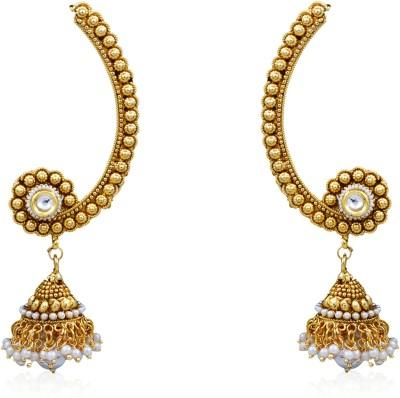 Prisha ATGOL1985 Zircon Copper Drop Earring