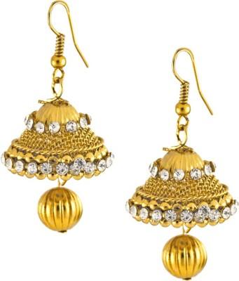 Aahaan JH_gold Alloy Jhumki Earring