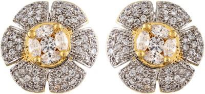 Fashionage Brass Stud Earring
