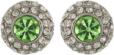 Amroha Crafts Silverish Appeal Alloy Huggie Earring