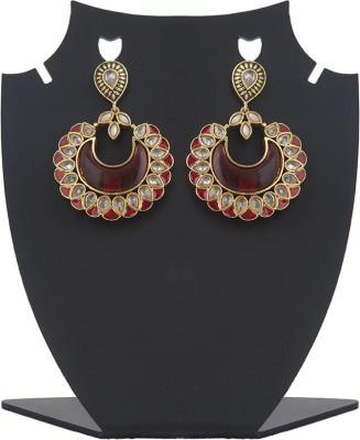 Aaina Home Decor Latest Copper Chandbali Earring