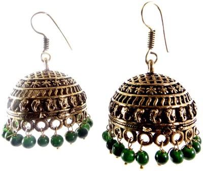 Shiv Kutumb German Silver Jhumki Earring