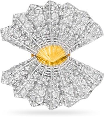 Fashionage Stylishh American Diamond Alloy Stud Earring