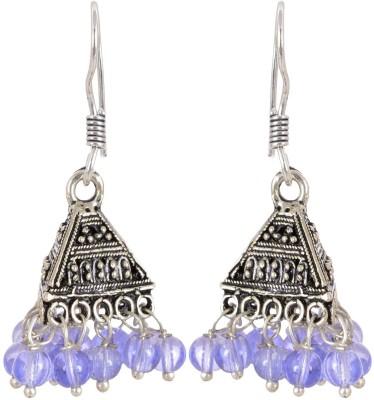 AGRIM Beads Metal Jhumki Earring Brass Jhumki Earring