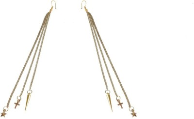 Ambitione Corss Star Spiked Alloy Dangle Earring