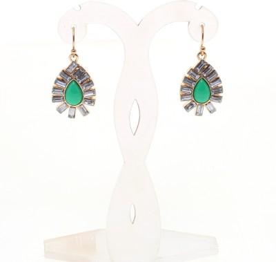 Just Pretty Things Shiny Emerald Earrings Alloy Drop Earring