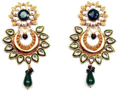 Vaibhav Fashion Vx0002 Palladium Drop Earring