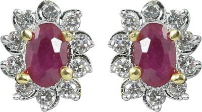 Zaveri Pearls Beautiful Feminine Brass Stud Earring