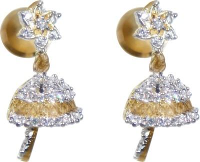 Valentina J03S137 Alloy Jhumki Earring