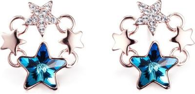 Nevi Star Swarovski Crystal Metal, Crystal Stud Earring