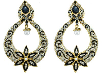 Suvini Style Diva Crystal Alloy Drop Earring