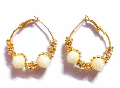 maya creation Traditional Gold Hoop Earring