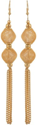 Heartzy Gold Plated Designer Wedding Alloy Dangle Earring