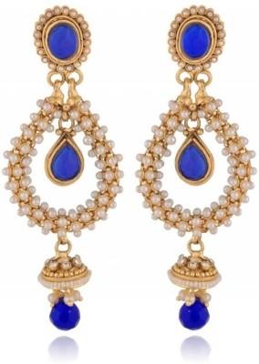 Rooh Jewellery Polki Copper Drop Earring