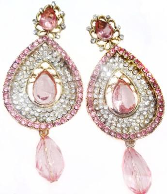 SB Fashions Spring Sparkle Brass Drop Earring