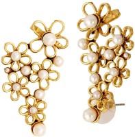 The Jewel Box Filigree Flower Pearl Copper Cuff Earring best price on Flipkart @ Rs. 443