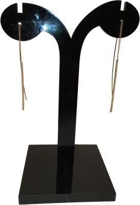 Chains n Charms Gold Stem Crystal Alloy Ear Thread