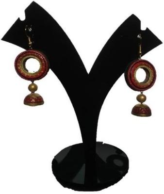 DEET dangling stylish Terracotta Dangle Earring