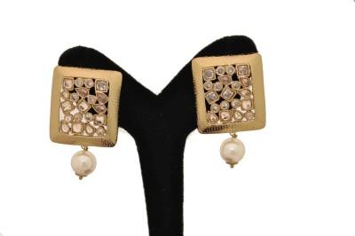 Arohi Jewells & Gems AJG21 Copper Earring Set