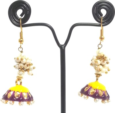 Kshitij Jewels Indo western Alloy Dangle Earring