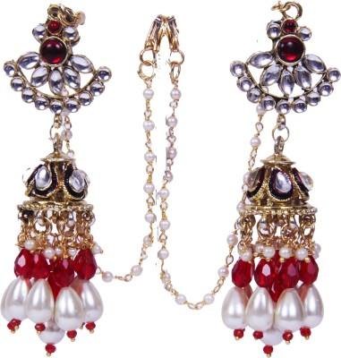 Traditsiya Royal Elegant Alloy Jhumki Earring