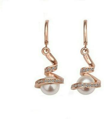 University Trendz Valentine Special UNIV_E034 Alloy Clip-on Earring