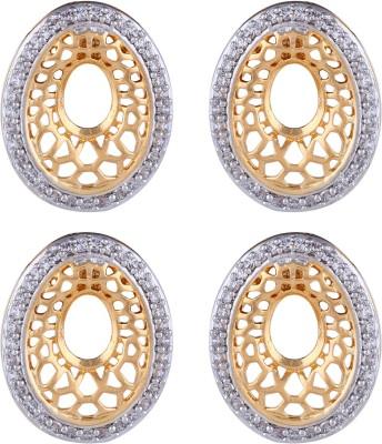 Dubbai Gold Elegant Look Metal Earring Set