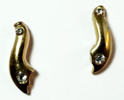 kanishq 24K GOLD PLATED Alloy Chandelier Earring
