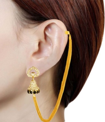 Prisha PPIPLCZER13 Zircon Copper Jhumki Earring
