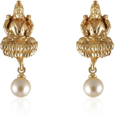Vastradi Laxmi Earrings Brass, Alloy Drop Earring