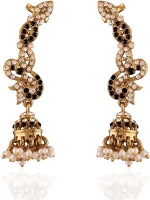 I Jewels Traditional Zinc Jhumki Earring