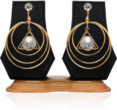 Arum Stone Earring Alloy Drop Earring