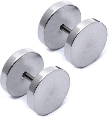 Solidindia Craft MensEarrings7mm Stainless Steel Stud Earring