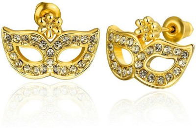 The Onyx Label Masquerade Beads Alloy Stud Earring