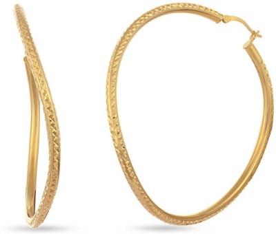 VelvetCase Striking Deal Hoop Earrings Silver Stud Earring