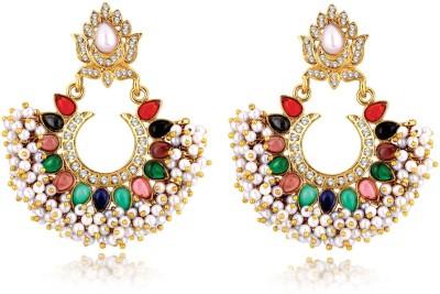 Alamod ALER 5043 Brass Chandelier Earring