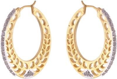 Dhasoomaal DM147 Copper Hoop Earring