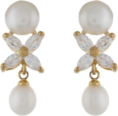 Classique DesignerJewellery Glamours Pearl Alloy Earring Set