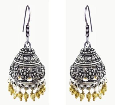 Gurjari OVALZUM Brass Jhumki Earring