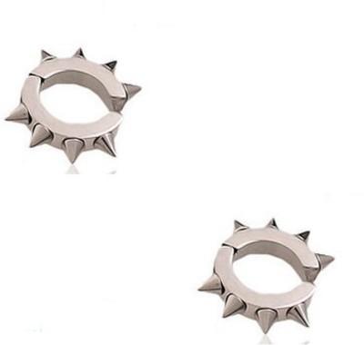 Vaishnavi Spike Stainless Steel Clip-on Earring
