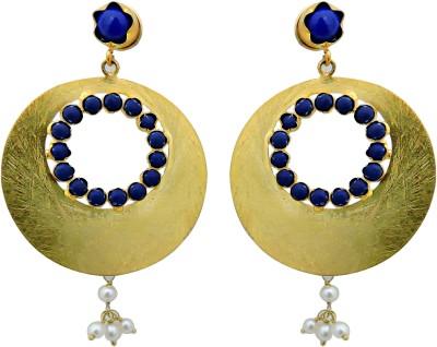 Cultural Fusion Gold Midas earrings Alloy Chandbali Earring